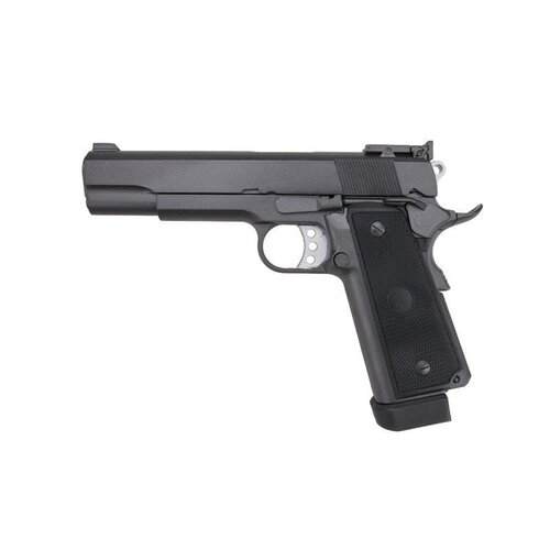 Well 1911 G194 Gas-Powered Green gas version  Metal Gel Blaster [Black] gbb