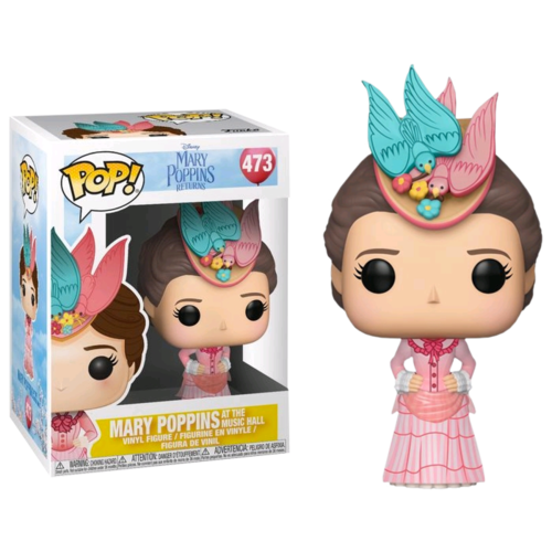 Mary Poppins Returns - Mary Poppins at the Music Hall #473 Pop! Vinyl