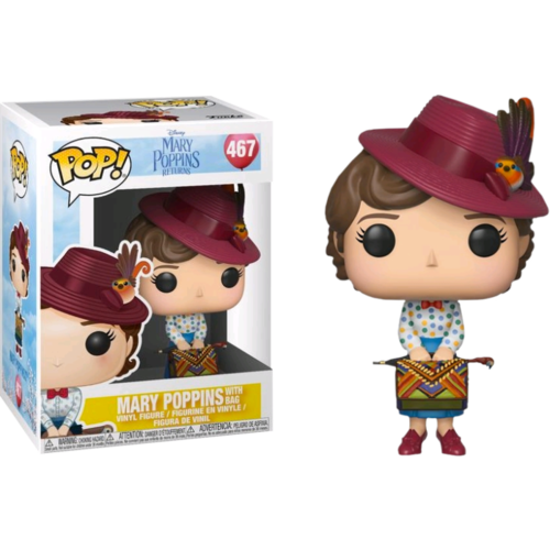 Mary Poppins Returns - Mary Poppins with Bag #467 Pop! Vinyl