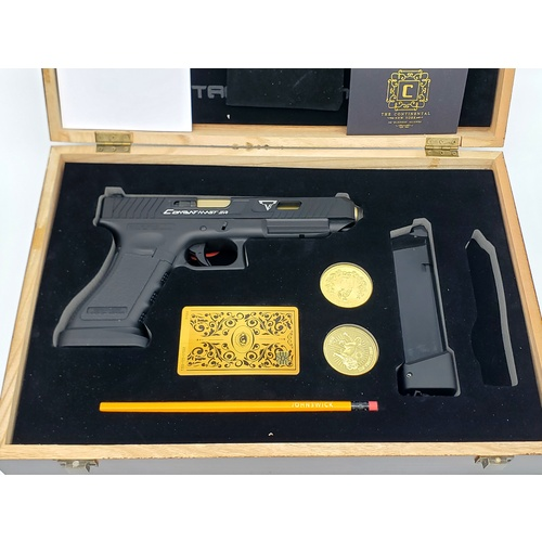 John Wick TTI Glock G34 Gel Blaster - Collectors Edition