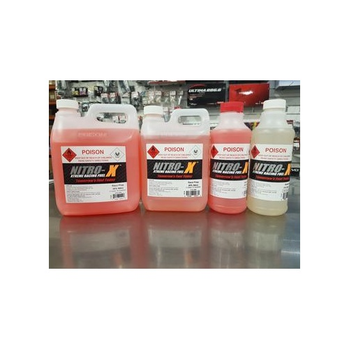 Nitro-X 0019 Break-In 5% Nitro Fuel 1L for rc cars