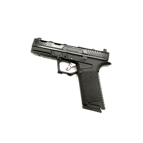 ARK-17 Black/Silver Gas Blowback Gel Blaster, GBB Pistol