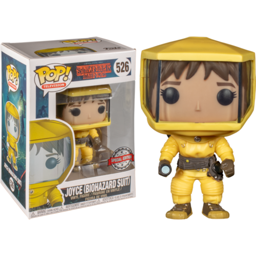 Stranger Things - Joyce in Hazmat Biohazard Suit #526 Pop! Vinyl