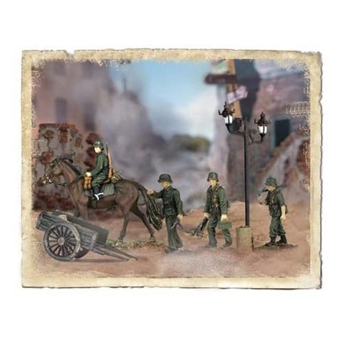 Forces of Valor - German Calvary Division 1:72 Battle Soldiers