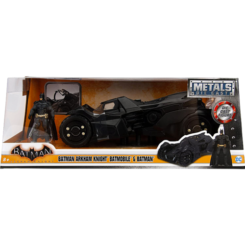 Batman: Arkham Knight - Batman with Batmobile 1/24th Scale Hollywood Rides Die-Cast Vehicle Replica