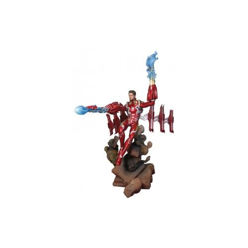 Avengers 3: Infinity War - Iron Man Mark 50 Unmasked Deluxe Gallery Statue