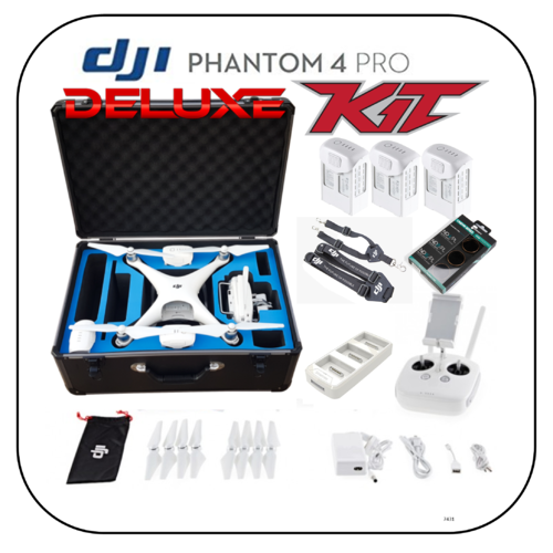 (Refurbished) Phantom 4 Pro deluxe Flymore Kit v1