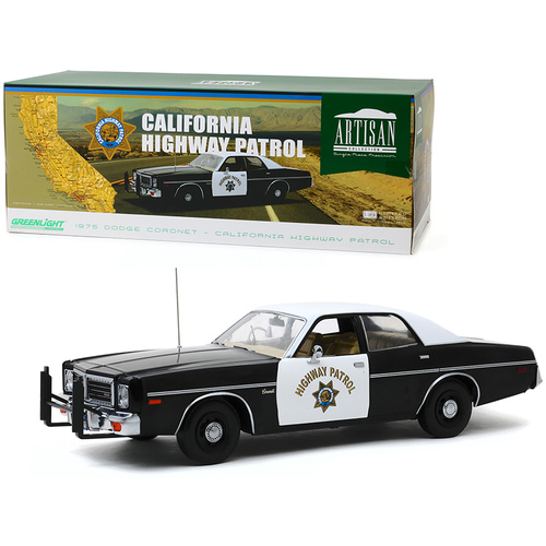 1975 Dodge Coronet - California Highway Patrol 1:18 Limited Edition Artisan Die-cast model