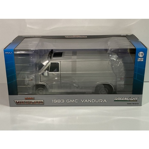 1983 GMC Vandura Silver 1:18 Scale Greenlight