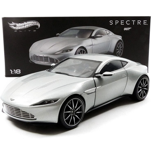 Hot Wheels Elite- James Bond Spectre 007 Aston Martin DB10 1:18 Scale Die-cast Model