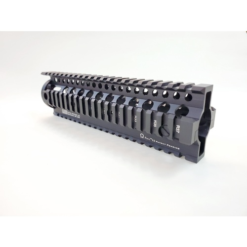 "Daniel Defense Omega 9"" Handguard - Black for gel blaster"