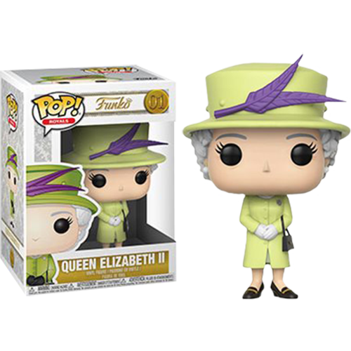 Royal Family - Queen Elizabeth II Green Dress #01 Pop! Vinyl