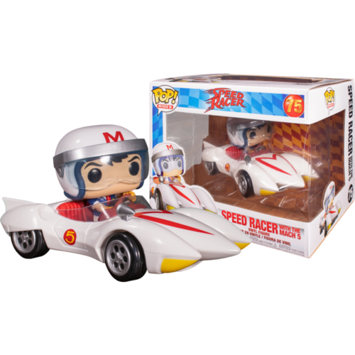 Speed Racer - Speed Racer with Mach 5 Pop! Rides #75 Vinyl Figure