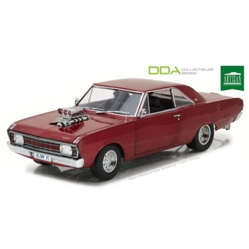 Greenlight artisan Dda - 1/18 1970 Chrysler Vg Valiant Drag Car With Super Charger