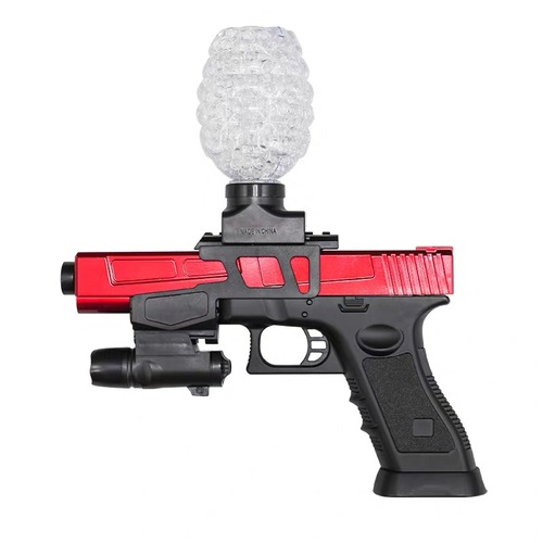 SKD Glock 18 hopper feed RED gel blaster