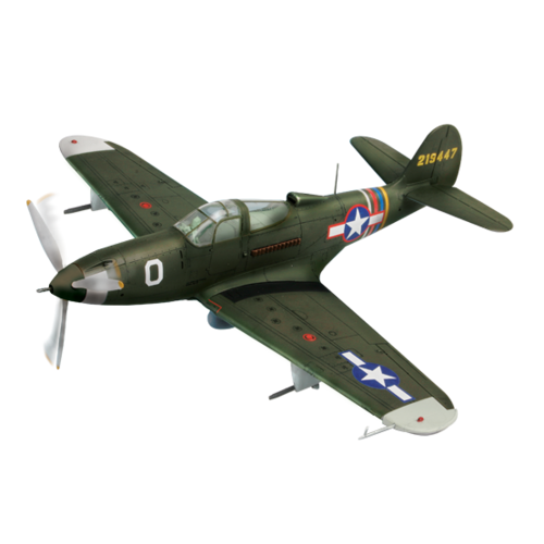Forces of Valor - U.S. P-39Q AIRACOBRA 1:32 - Green