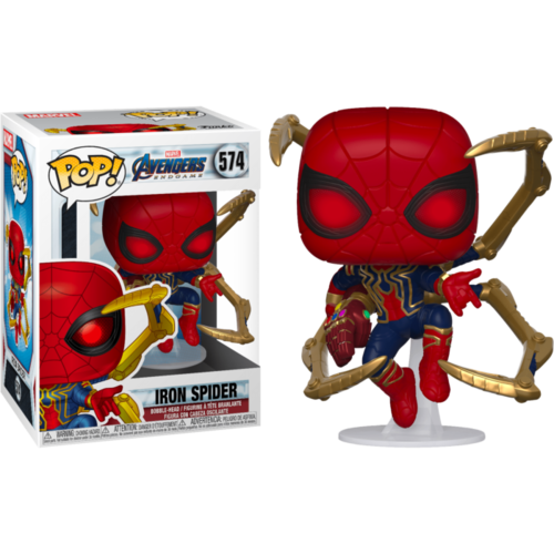 Avengers 4: Endgame - Iron Spider with Nano Gauntlet #574 Pop! Vinyl