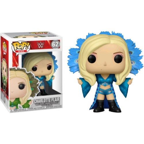 WWE - Charlotte Flair in Blue Outfit #62 Pop! Vinyl
