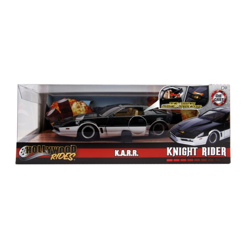 Knight Rider - K.A.R.R. 1982 Pontiac Firebird 1:24 Scale Hollywood Ride