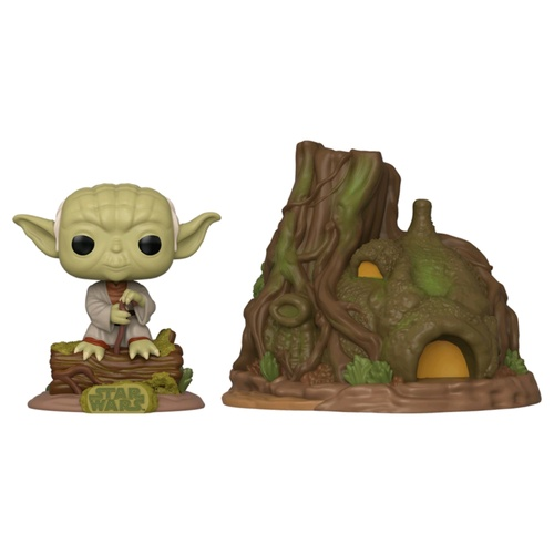 Star Wars - Yoda with Hut Pop! Town